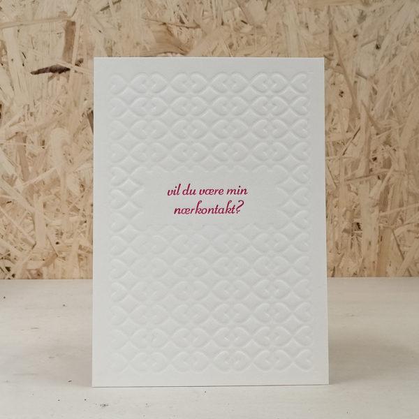 Utlistingsbilde for valentineskort