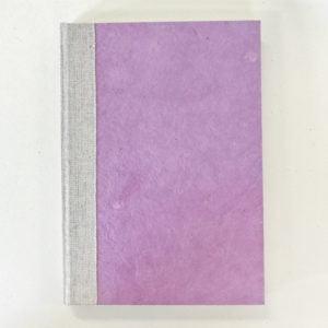 Grønn og rosa notatbok
